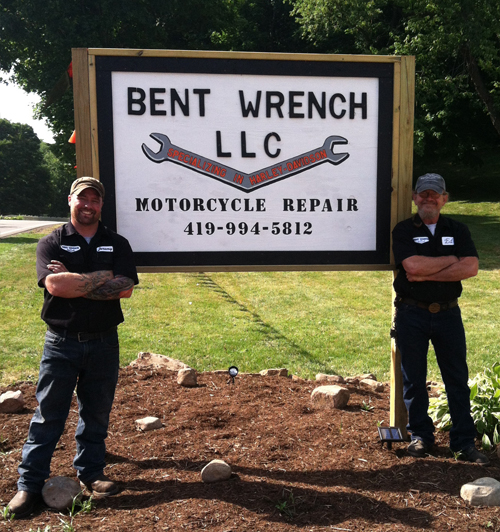 Ed Roberts (right) and Jeremy Burkepile (left) of Bent Wrench L.L.C.