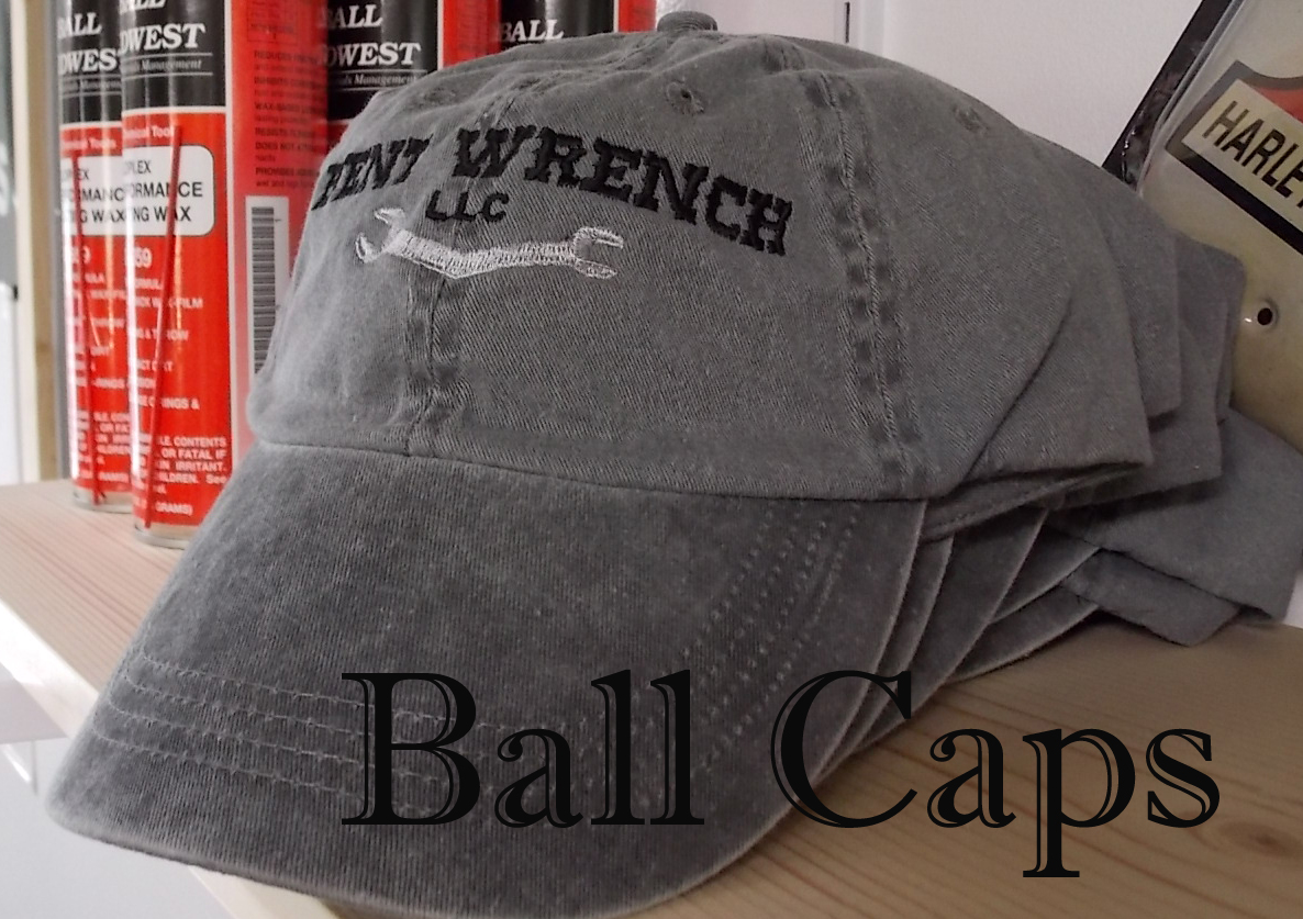 Bent Wrench Ball Caps