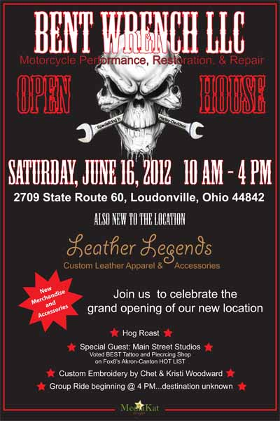 Bent Wrench Open House Event