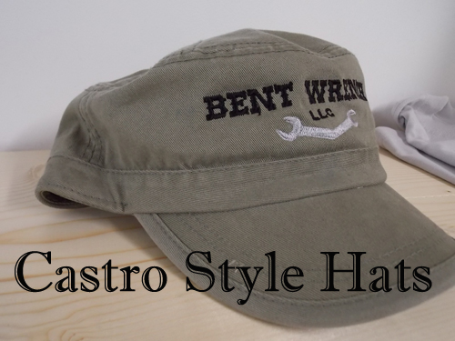Bent Wrench Castro Style Hats