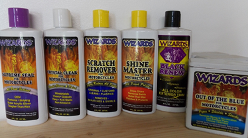 Wizard Motorcycle Care Products